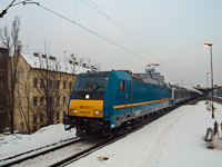 The 480 011 at Zugl