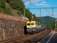The 432 377 at Dömösi átkelés