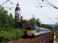 The 431 123 at Nagymaros-Visegr�d