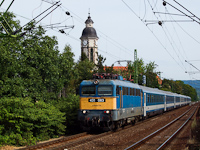 The 431 083 at Nagymaros-Visegrád