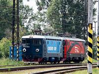 A ConstantinGrup és a CRW.AS. négytengelyes ASEA-mozdonyai Párkány-Nána állomáson