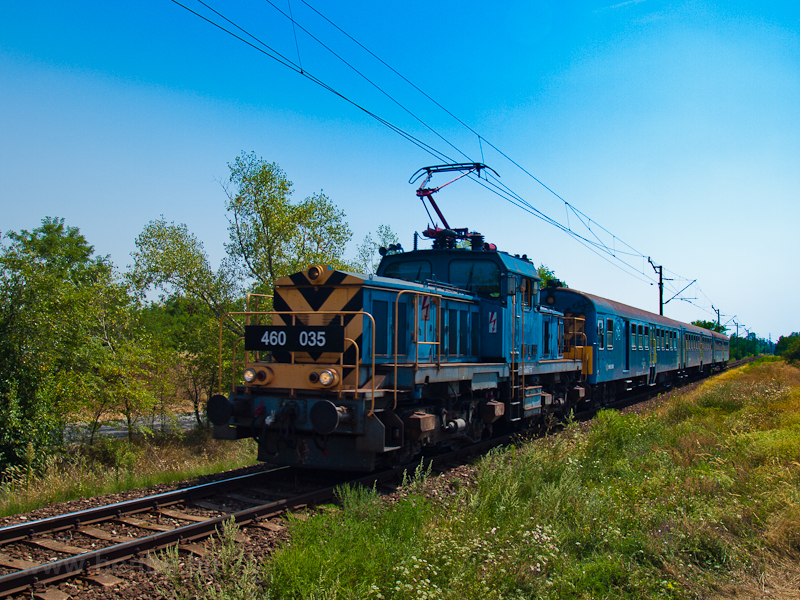 The 460 035 seen near Dunav photo