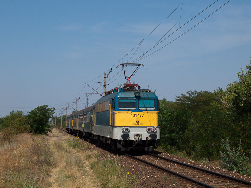 The 431 177 seen near Dunav photo