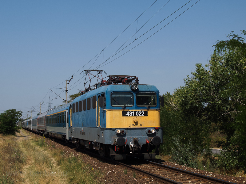 The 431 022 seen near Dunav photo