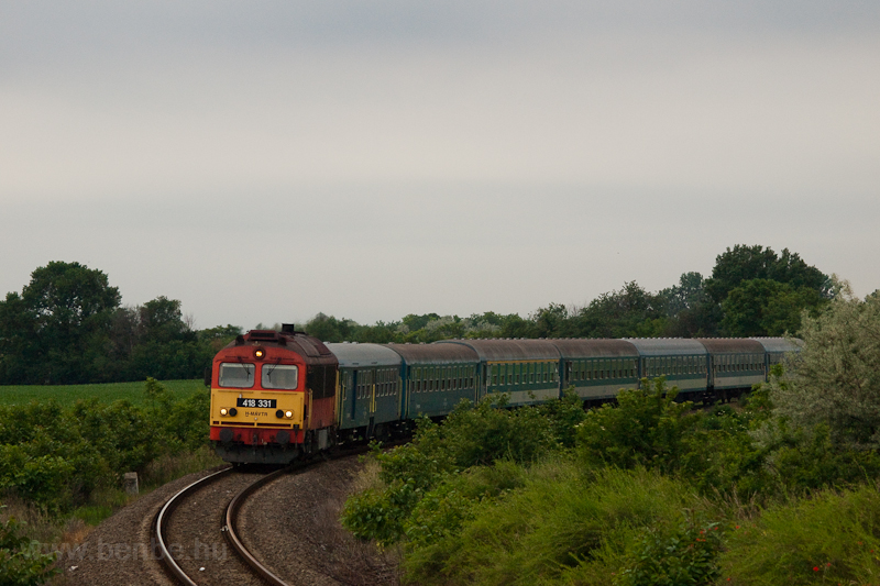 The 418 331 seen near Puszt photo