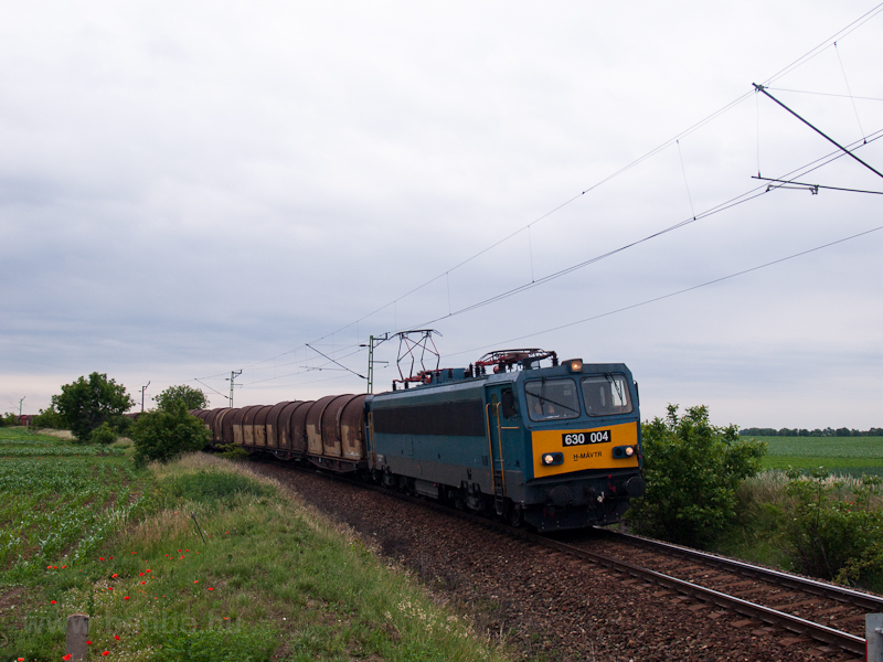The MÁV-TR 630 004 seen bet photo