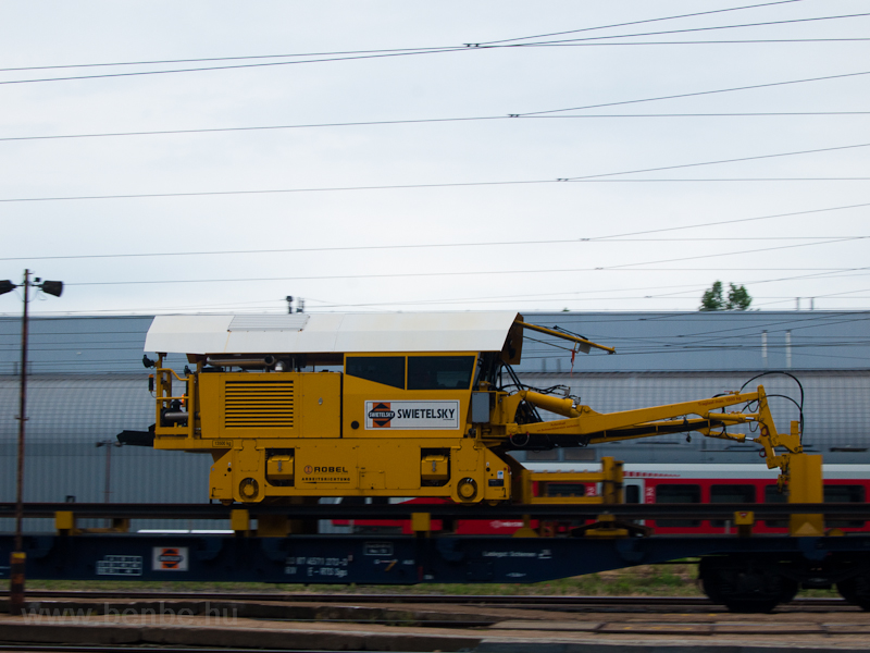 Track maintenance train photo