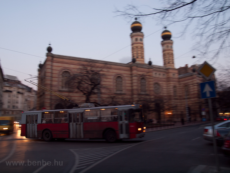 Type ZIU-9 trolleybus at th picture