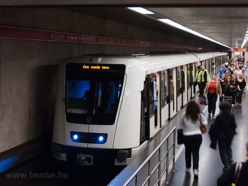 A new ALSTOM metro train ar photo