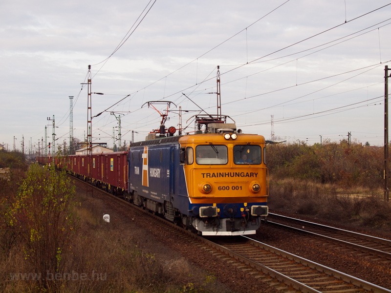A TrainHungary 600 001-as A fotó