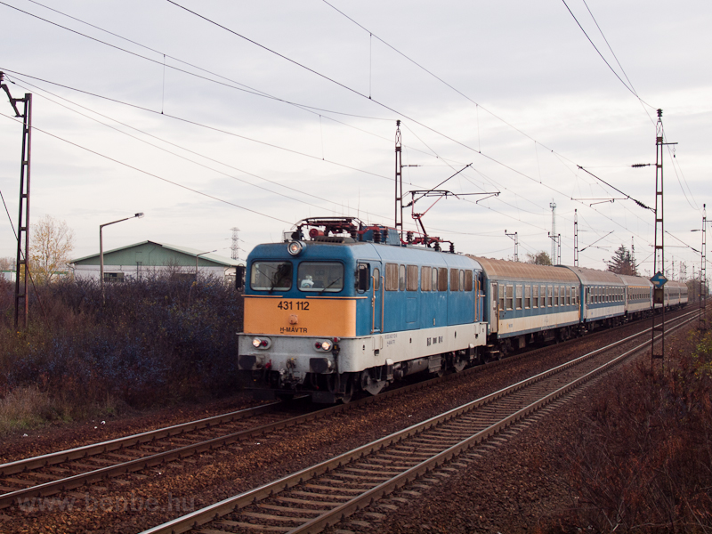 The 431 112 at Füzesabony photo