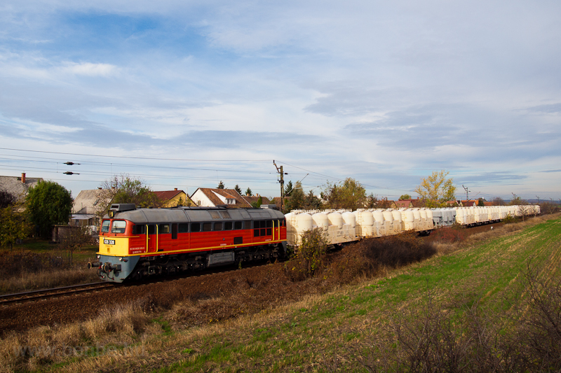 The 628 328 at Füzesabony photo