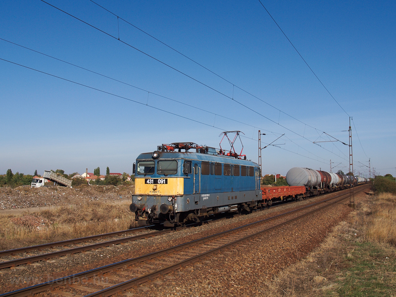 The 431 091 seen at Szihalo picture