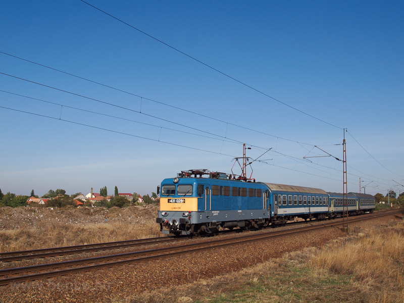 The 431 023 at Szihalom photo
