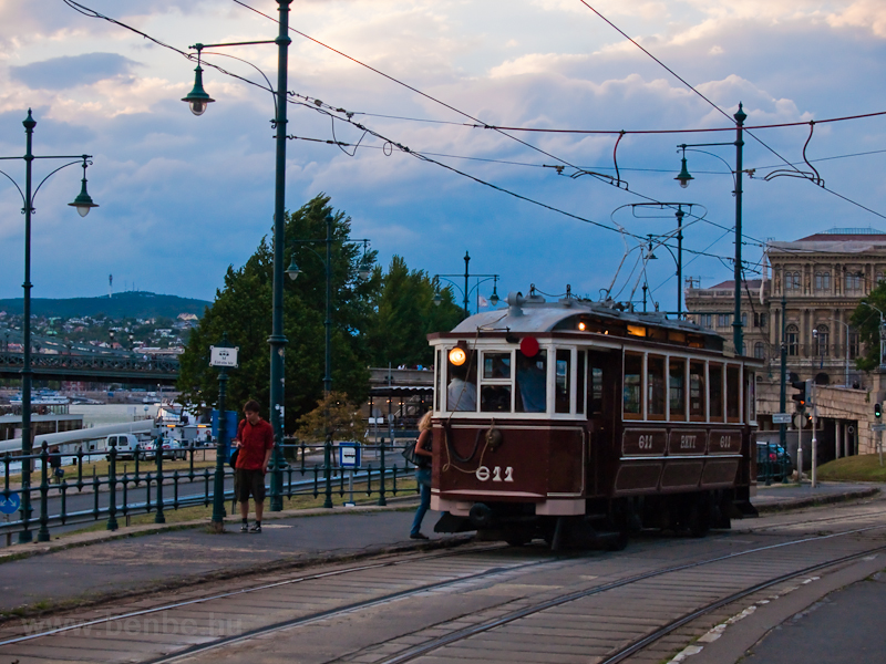 Historic tramcar number 611 photo
