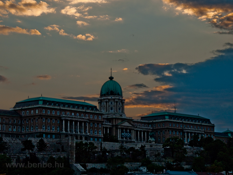 The Buda castle photo