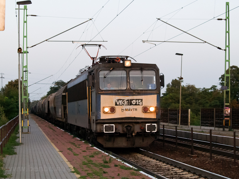 The V63 015 seen at Törökbá photo