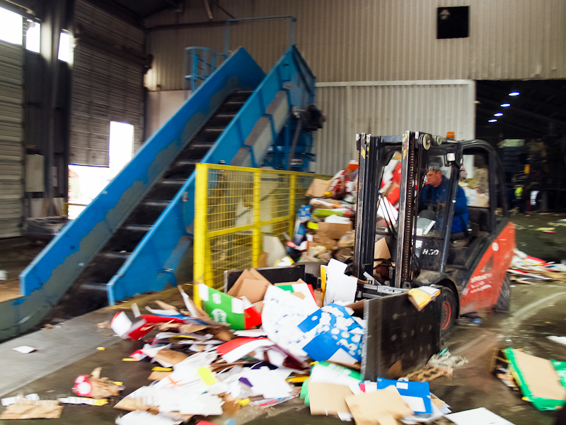 Paper recycling facility –  picture