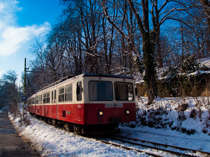 The rack railway by Svábheg photo
