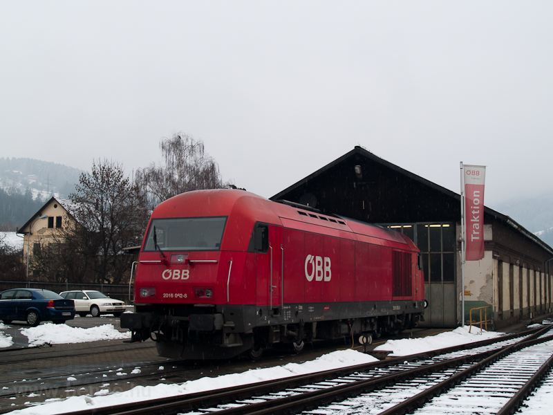 The ÖBB 2016 062-8 seen at  photo