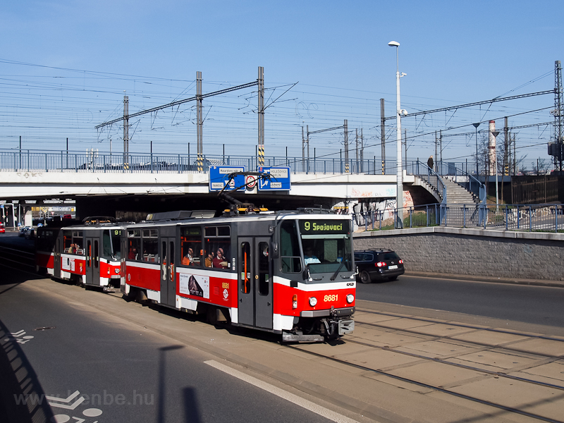 The Tatra T6A2 tram number  photo