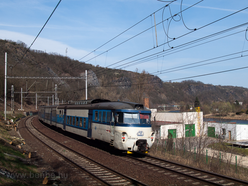 The ČD 451 056-6 Najbr photo