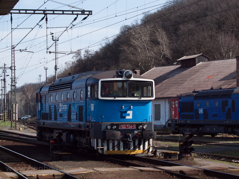 The ČD Cargo 753 754-1 photo