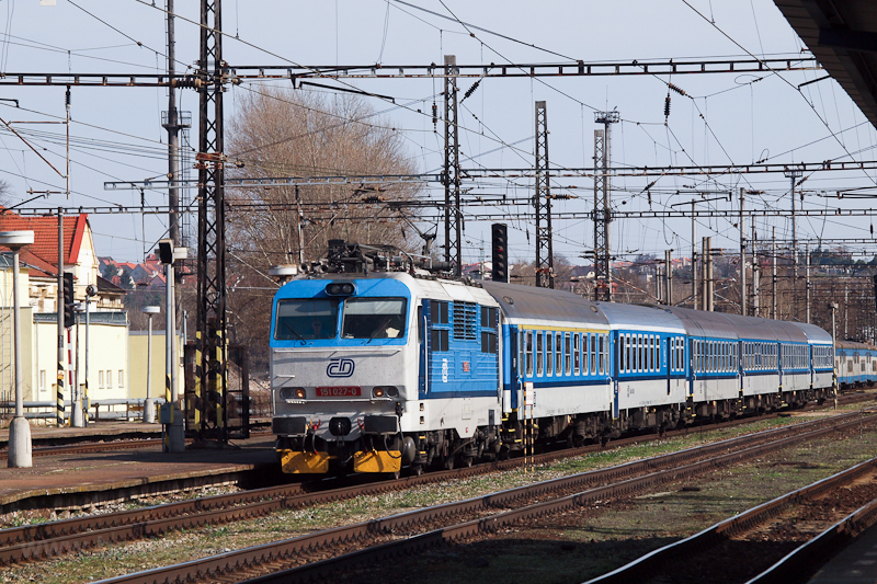 The ČD 151 027-0 is se photo