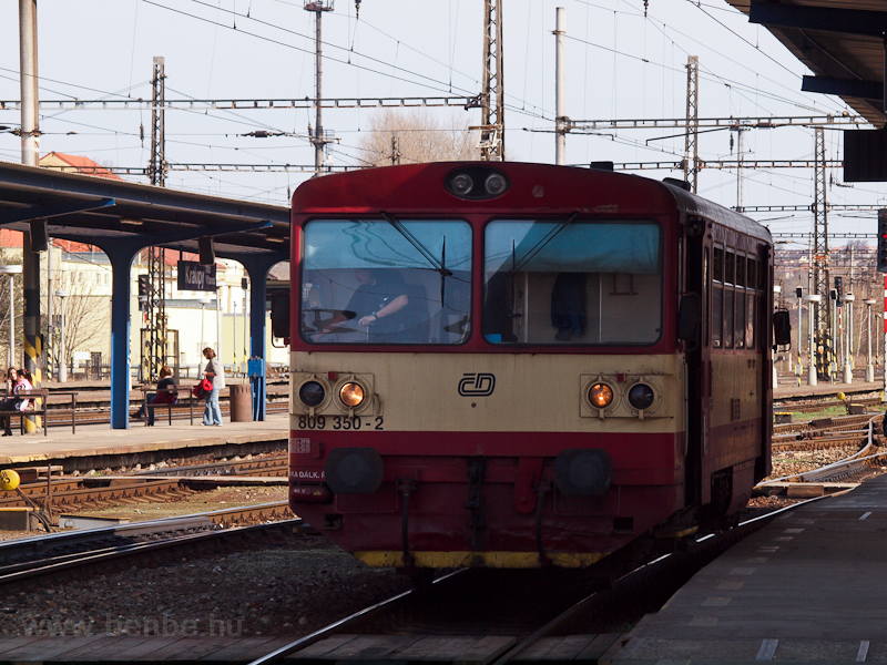 The ČD 809 350-2 at Kr photo