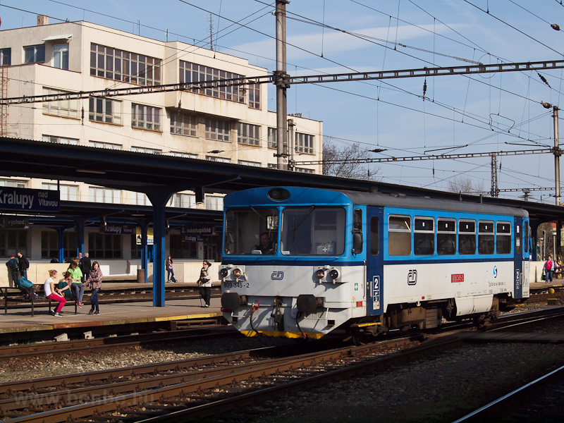 The ČD 809 345-2 at Kr photo