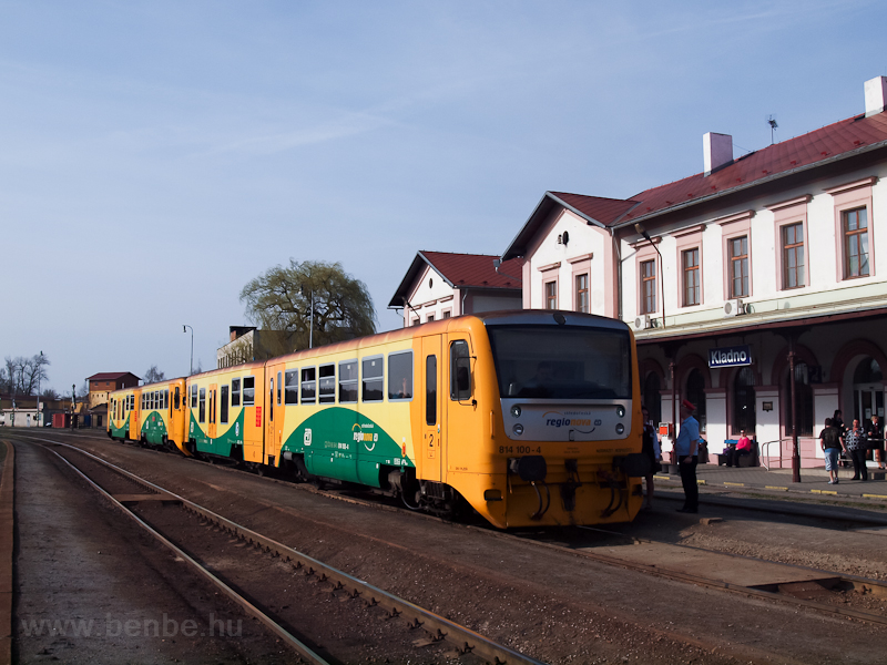 The ČD 814 100-4 regio photo