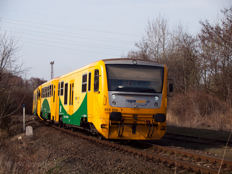 The ČD 914 056-7 regio photo