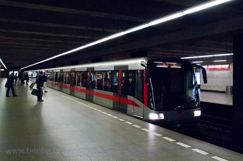 A Siemens M1 metro train at photo
