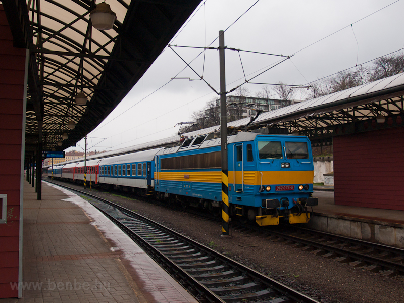 The ČD 362 078-8 at Pr photo