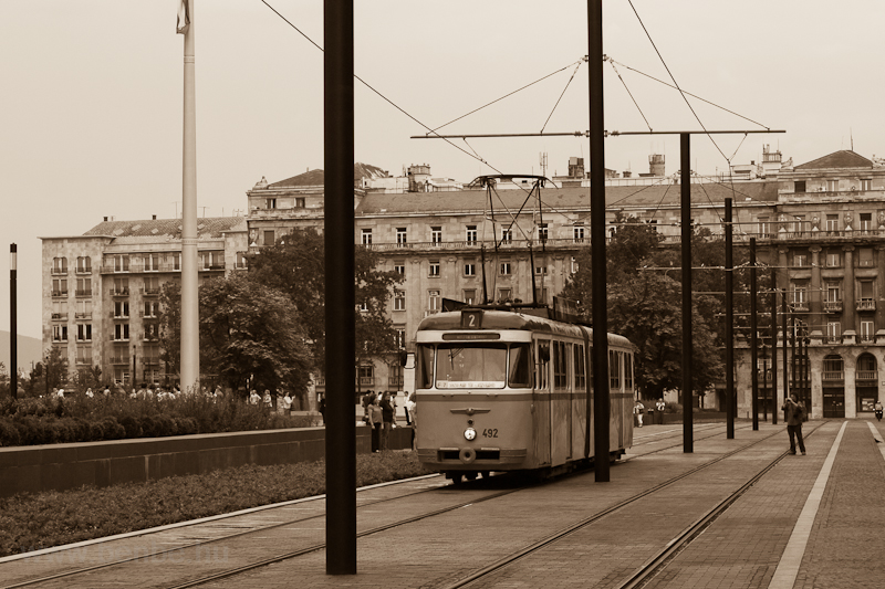 A Bengáli historic tram on  photo