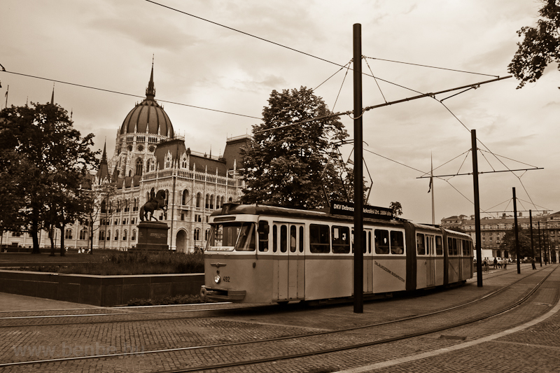 A Bengáli historic tram on  picture