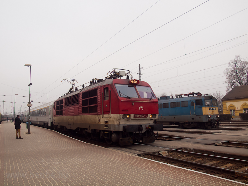 The ZSSK 350 002-2 seen at  photo