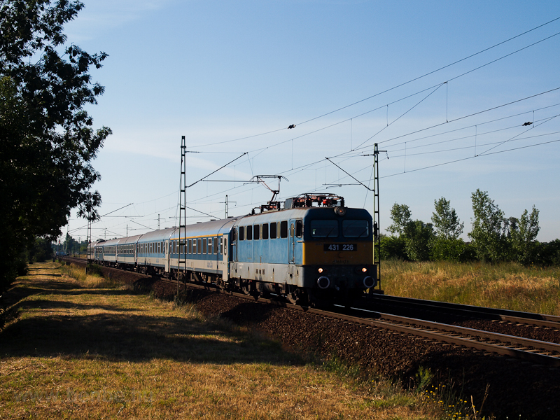 The 431 226 seen near Szeme photo