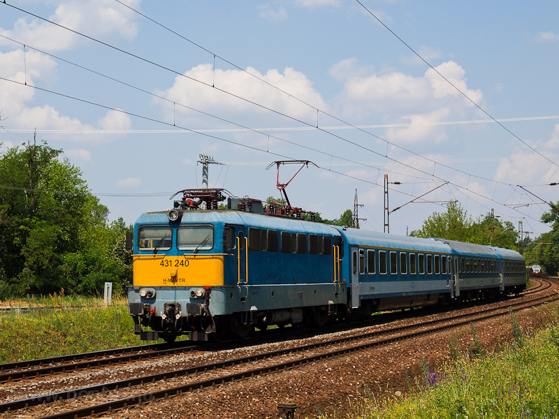 The 431 240 seen at Gödöll& photo