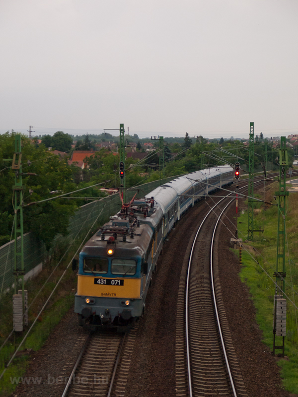 The 431 071 seen at Vecsés photo