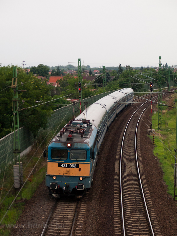 The 431 062 seen at Vecsés photo