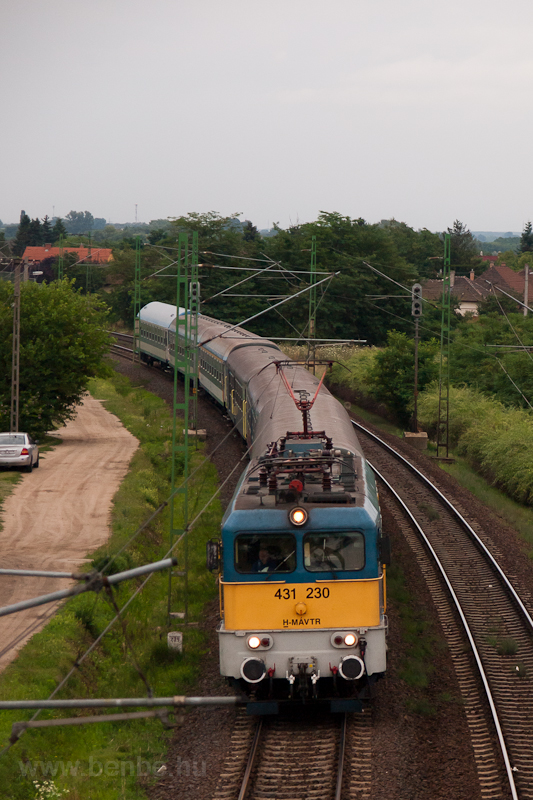The 431 230 at Vecsés photo