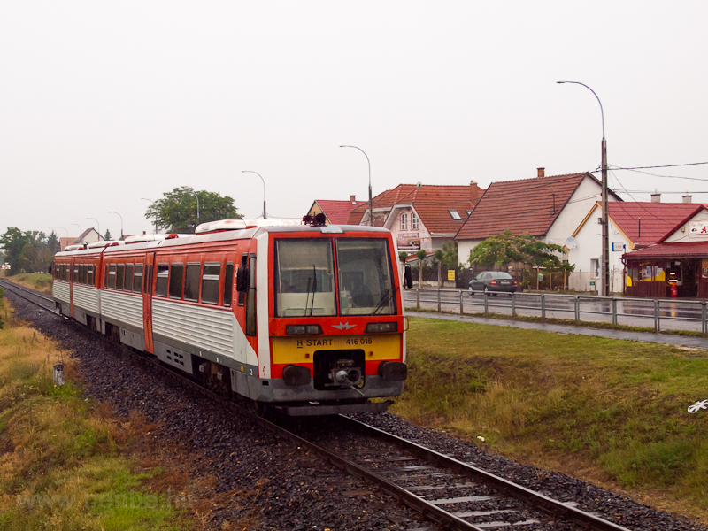 The MÁV-START 416 015 seen  photo