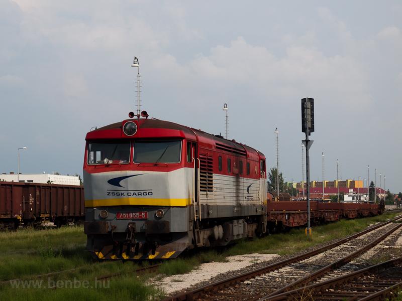 A ŽSSK Cargo 751 055-5 fotó