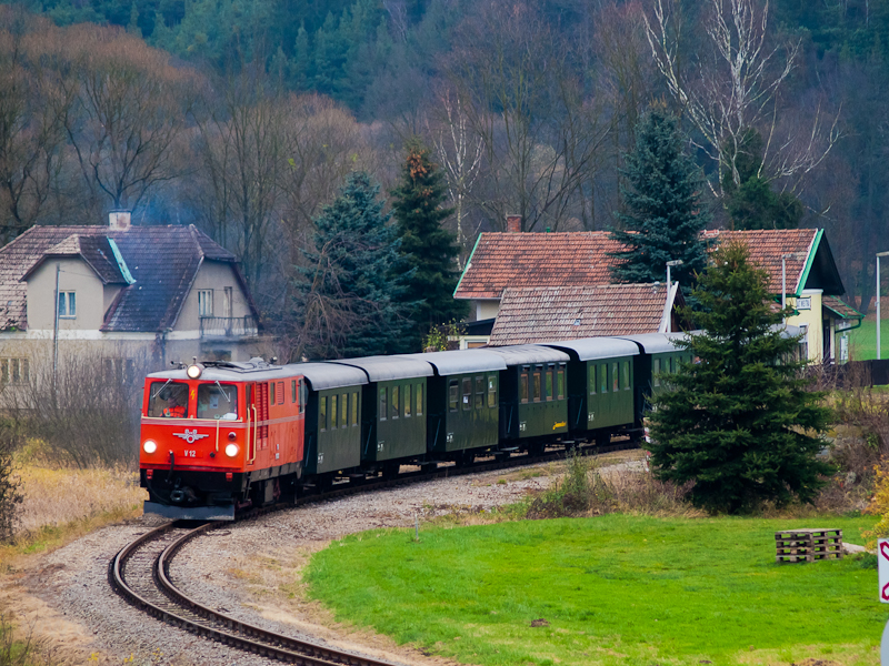 The NÖVOG V12 (ex ÖBB 2095. photo