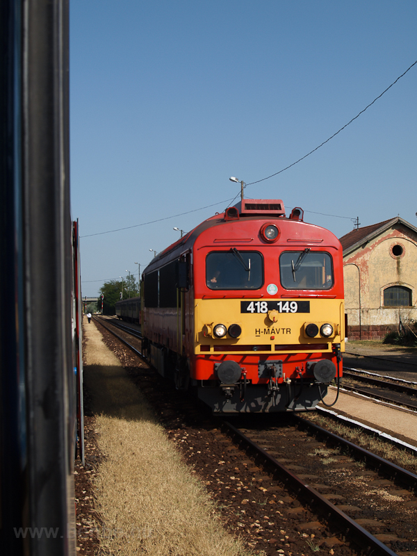 The 418 149 seen at Polgárd photo