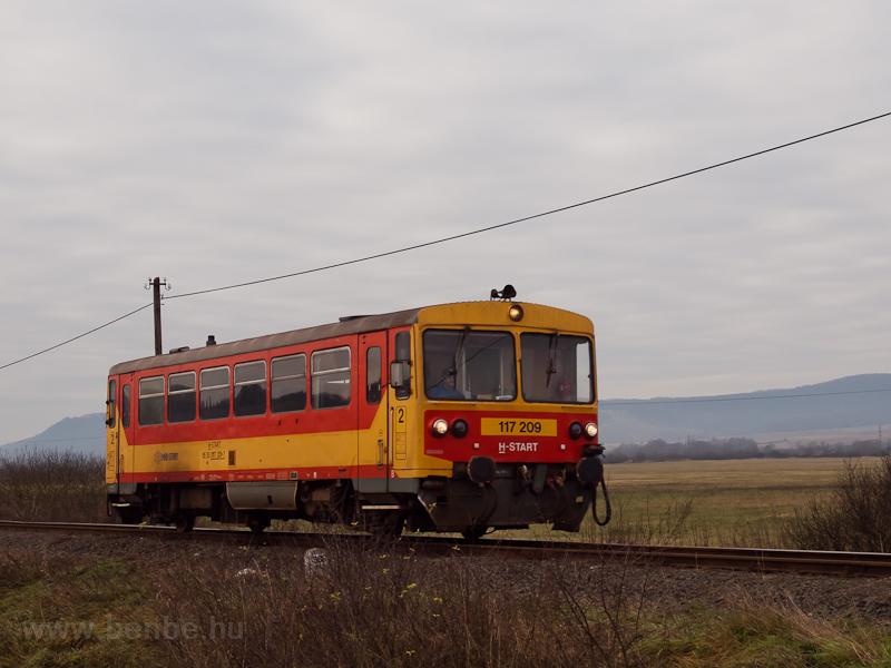 The MÁV-START 117 209 (ex B photo