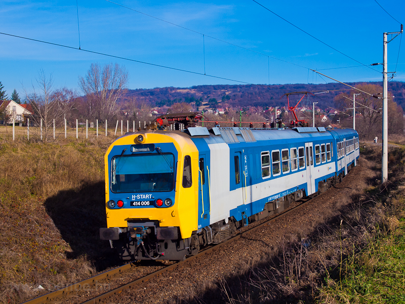 The 414 006 seen near Fótúj picture