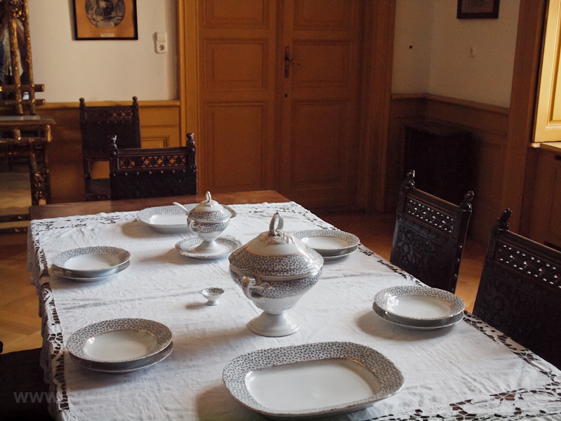 The dining room of the Náda photo