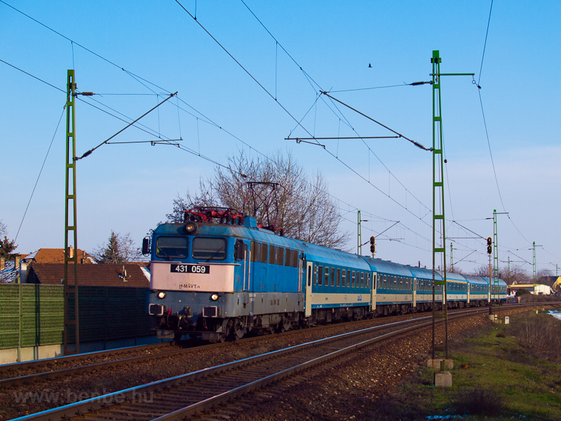 The 431 059 seen at Vecsés- photo